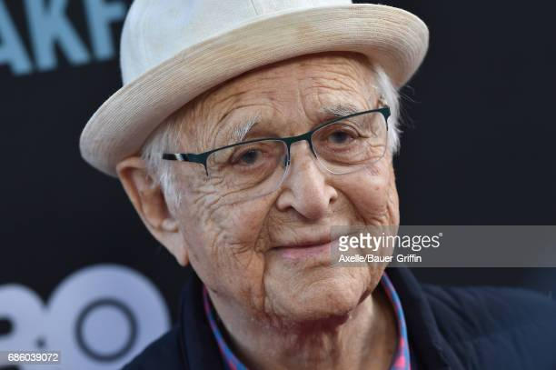 Writer/producer Norman Lear arrives at the premiere of HBO's 'If You're Not In The Obit Eat Breakfast' at Samuel Goldwyn Theater on May 17 2017 in...