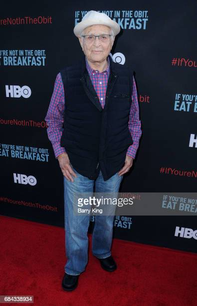 Writer/producer Norman Lear attends premiere of HBO's 'If You're Not In The Obit Eat Breakfast' at Samuel Goldwyn Theater on May 17 2017 in Beverly...