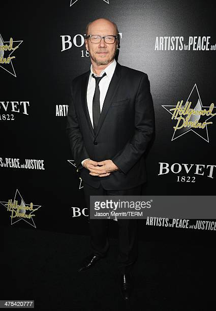 Writer/producer Paul Haggis attends the 7th Annual Hollywood Domino and Bovet 1822 Gala benefiting artists for peace and justice at Sunset Tower on...