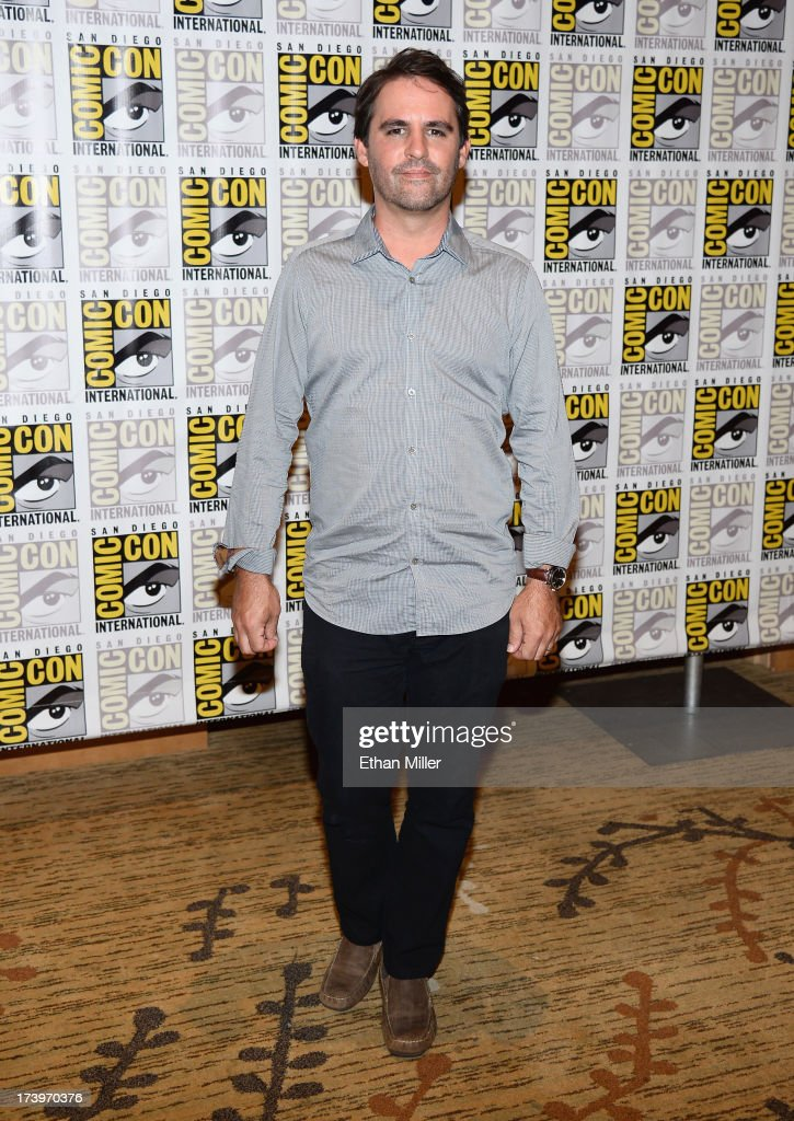 Writer/producer <a gi-track='captionPersonalityLinkClicked' href=/galleries/search?phrase=Roberto+Orci&family=editorial&specificpeople=651307 ng-click='$event.stopPropagation()'>Roberto Orci</a> attends the 'Ender's Game' and 'Divergent' press line during Comic-Con International 2013 at the Hilton San Diego Bayfront Hotel on July 18, 2013 in San Diego, California.