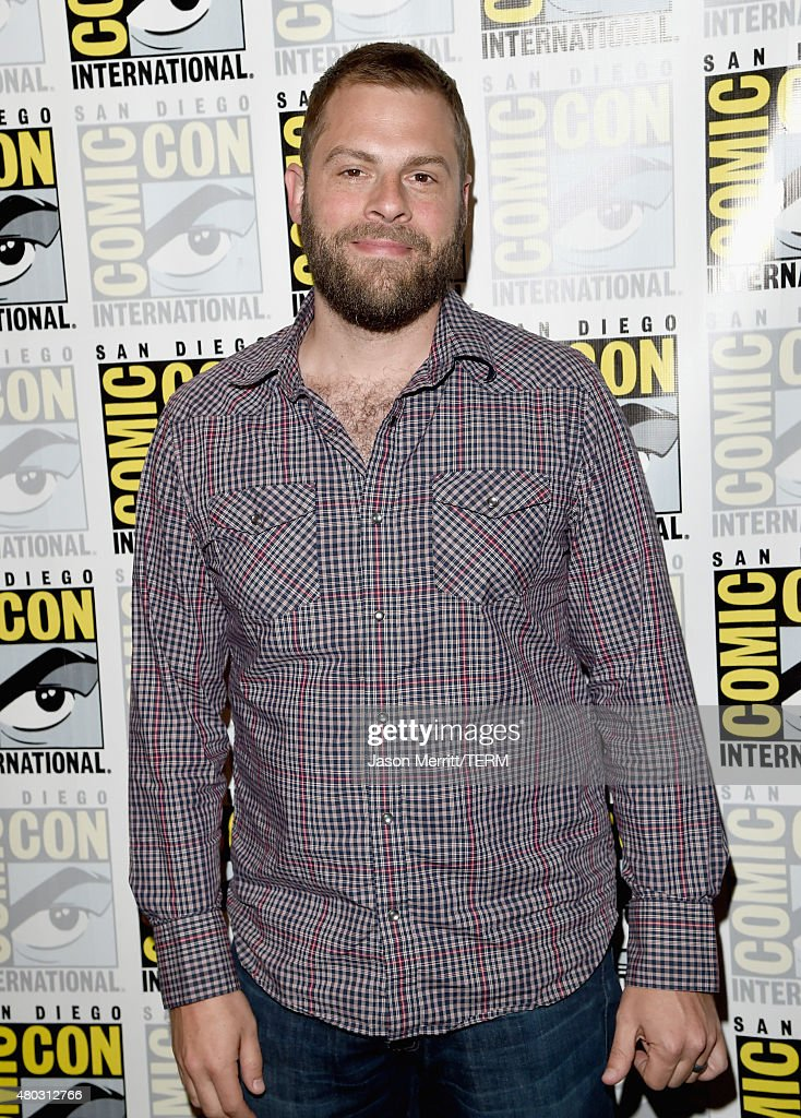 Writer/producer Ryan Condal attends the 'Colony' press room during Comic-Con International 2015 at the Hilton Bayfront on July 10, 2015 in San Diego, California.