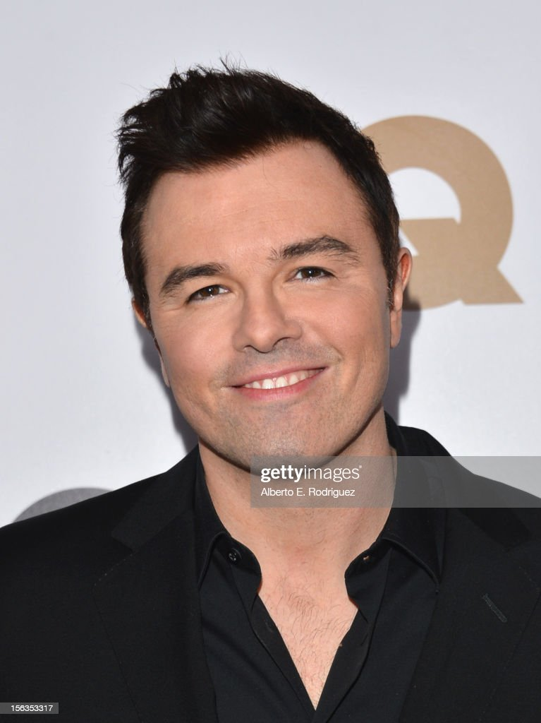 Writer/Producer Seth MacFarlane arrives at the GQ Men of the Year Party at Chateau Marmont on November 13, 2012 in Los Angeles, California.