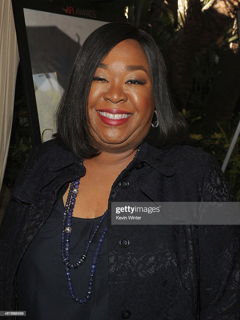 Writer-producer <a gi-track='captionPersonalityLinkClicked' href=/galleries/search?phrase=Shonda+Rhimes&family=editorial&specificpeople=572007 ng-click='$event.stopPropagation()'>Shonda Rhimes</a> attends the 14th annual AFI Awards Luncheon at the Four Seasons Hotel Beverly Hills on January 10, 2014 in Beverly Hills, California.