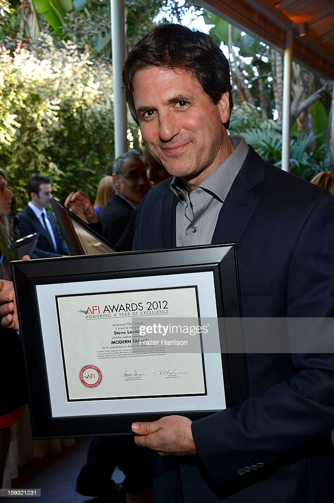 Writer/producer Steven Levitan attends the 13th Annual AFI Awards at Four Seasons Los Angeles at Beverly Hills on January 11, 2013 in Beverly Hills, California.