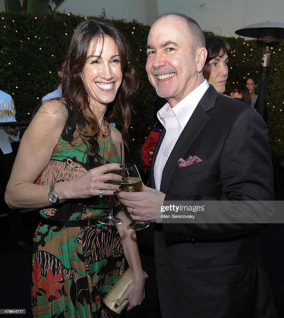 Writer/producer <a gi-track='captionPersonalityLinkClicked' href=/galleries/search?phrase=Terence+Winter&family=editorial&specificpeople=2922082 ng-click='$event.stopPropagation()'>Terence Winter</a> (R) and wife <a gi-track='captionPersonalityLinkClicked' href=/galleries/search?phrase=Rachel+Winter&family=editorial&specificpeople=4485411 ng-click='$event.stopPropagation()'>Rachel Winter</a> attend the 2nd Annual Rebel With A Cause Gala cocktail reception at Paramount Studios on March 20, 2014 in Hollywood, California.