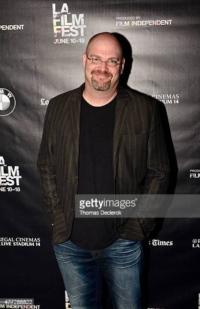 Writer/producer Trey Callaway attends the UN Panel during the 2015 Los Angeles Film Festival at Regal Cinemas LA Live on June 14 2015 in Los Angeles...