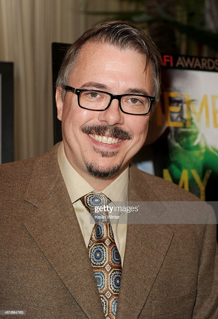 Writerproducer Vince Gilligan attends the 14th annual AFI Awards Luncheon at the Four Seasons Hotel Beverly Hills on January 10 2014 in Beverly Hills...