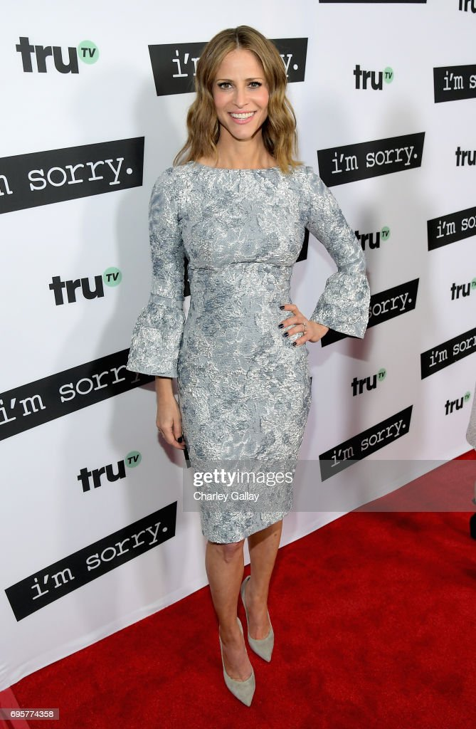 """Writer/producer/actor Andrea Savage at the premiere screening of truTV's new scripted comedy """"I'm Sorry"""" at the SilverScreen Theater at the Pacific Design Center on June 13, 2017 in Los Angeles, California. 27060_001"""
