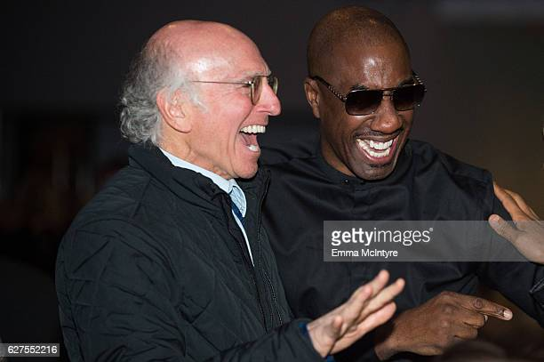 Writer/producer/actor Larry David and actor/comedian JB Smoove attend day two of the 2016 Deer Valley Celebrity Skifest on December 2 2016 in Park...