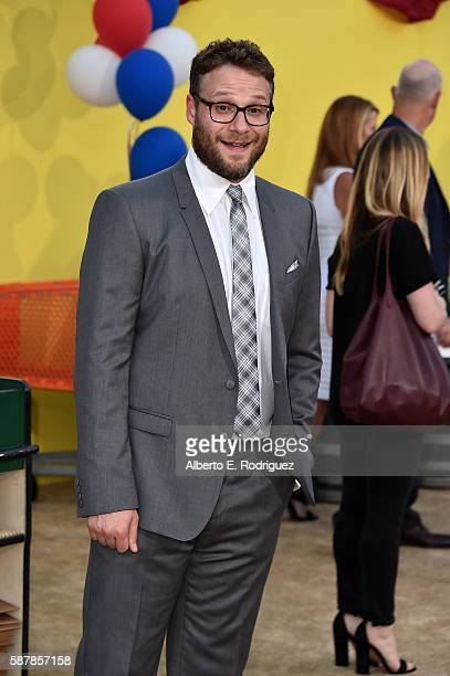 Writer/producer/actor Seth Rogen attends the premiere of Sony's 'Sausage Party' at Regency Village Theatre on August 9 2016 in Westwood California