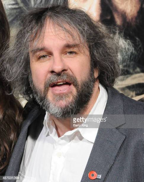 Writer/producer/director Peter Jackson attends the premiere of 'The Hobbit The Desolation Of Smaug' on December 2 2013 at TCL Chinese Theatre in...
