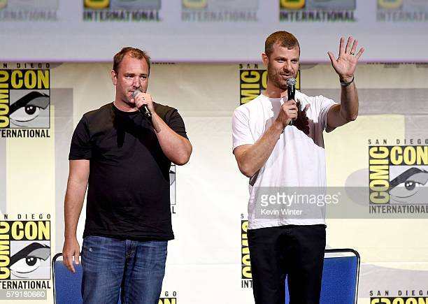 Writer/producers Trey Parker and Matt Stone attend Comedy Central 'South Park 20' during ComicCon International 2016 at San Diego Convention Center...