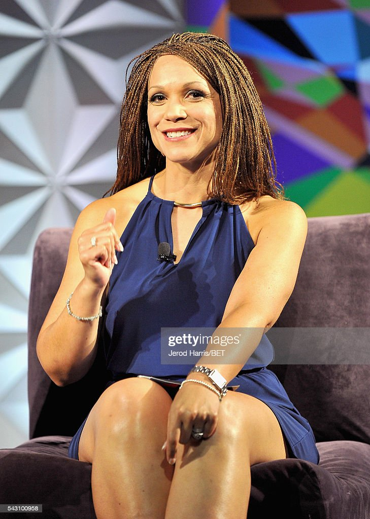Writer/professor <a gi-track='captionPersonalityLinkClicked' href=/galleries/search?phrase=Melissa+Harris-Perry&family=editorial&specificpeople=9523657 ng-click='$event.stopPropagation()'>Melissa Harris-Perry</a> speaks onstage during the Genius Talks sponsored by AT&T during the 2016 BET Experience on June 25, 2016 in Los Angeles, California.