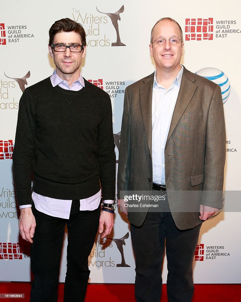 Writers Joseph McMaster and Randall MacLowry attends the 65th Annual Writers Guild East Coast Awards at B.B. King Blues Club & Grill on February 17, 2013 in New York City.
