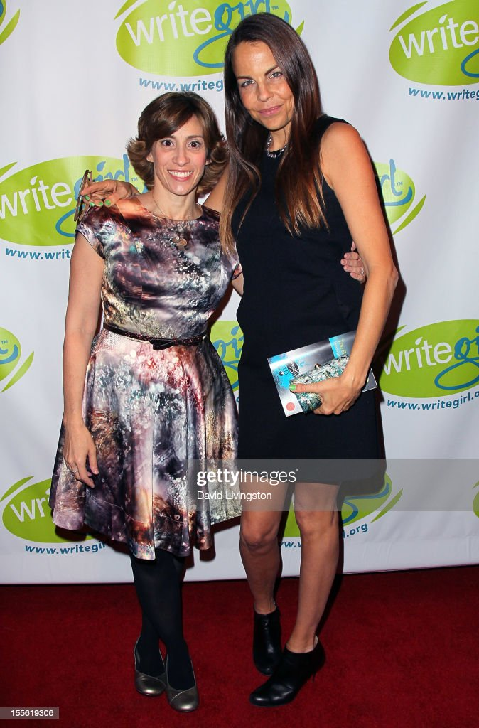 Writers Kami Garcia and Margaret Stohl attend the Bold Ink Awards at the Eli and Edythe Broad Stage on November 5 2012 in Santa Monica California