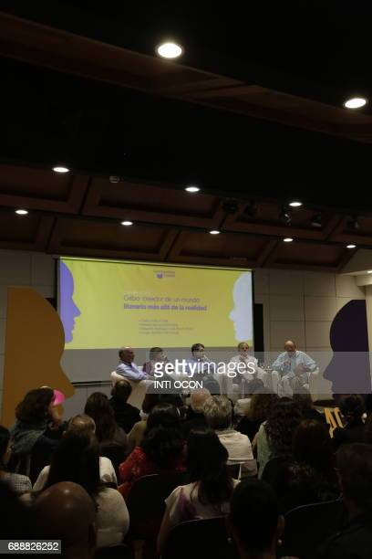 Writers talk about 'Gabriel García Marquez Creator of a literary world beyond reality' during the last day of the fifth literary festival...