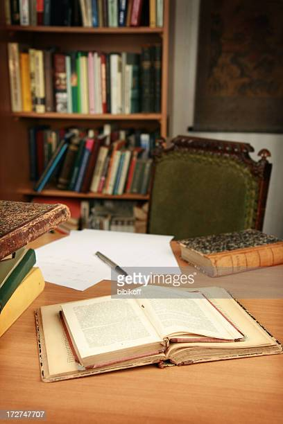 writer's workplace