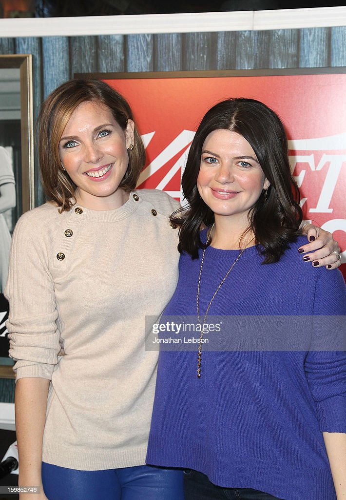 Writers/actresses June Diane Raphael (L) and Casey Wilson attend Day 3 of the Variety Studio At 2013 Sundance Film Festival on January 21, 2013 in Park City, Utah.