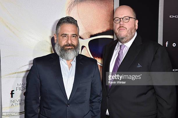 Writers/directors Glenn Ficarra and John Requa attend the premiere of Warner Bros Pictures' 'Focus' at TCL Chinese Theatre on February 24 2015 in...