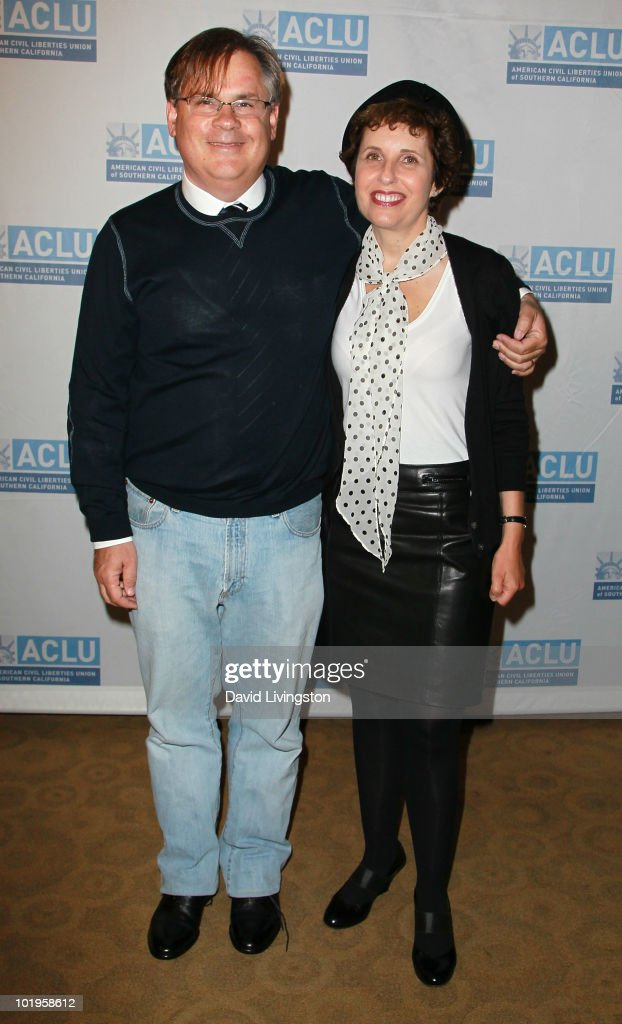 Writers/executive producers Robert King and Michelle King attend the 16th Annual Law Luncheon at the Wilshire Grand Hotel on June 10 2010 in Los...
