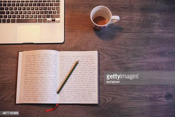 Ein Tagebuch schreiben