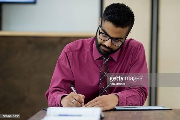 Writing Checks at the Office