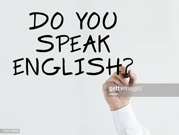 Writing do you speak english