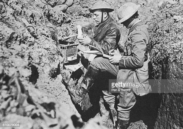 Writing in the Trenches France