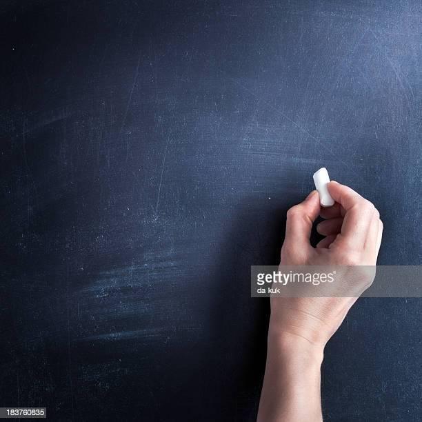 Schreiben auf Tafel