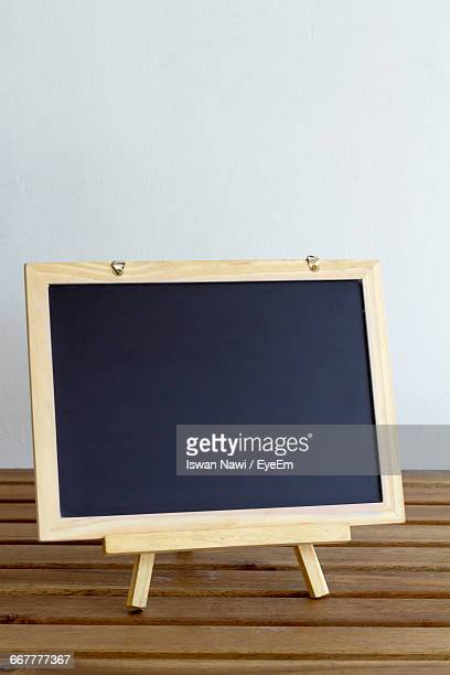 Writing Slate On Table
