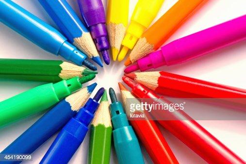 Strumenti di scrittura : Foto stock