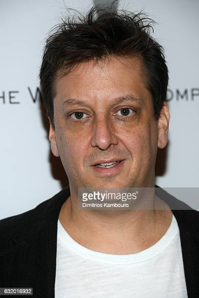Writter Robert D Siegel attends The Weinstein Company with Grey Goose hosted screening of 'The Founder' at The Roxy Hotel on January 18 2017 in New...