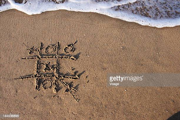 Writting on the sand