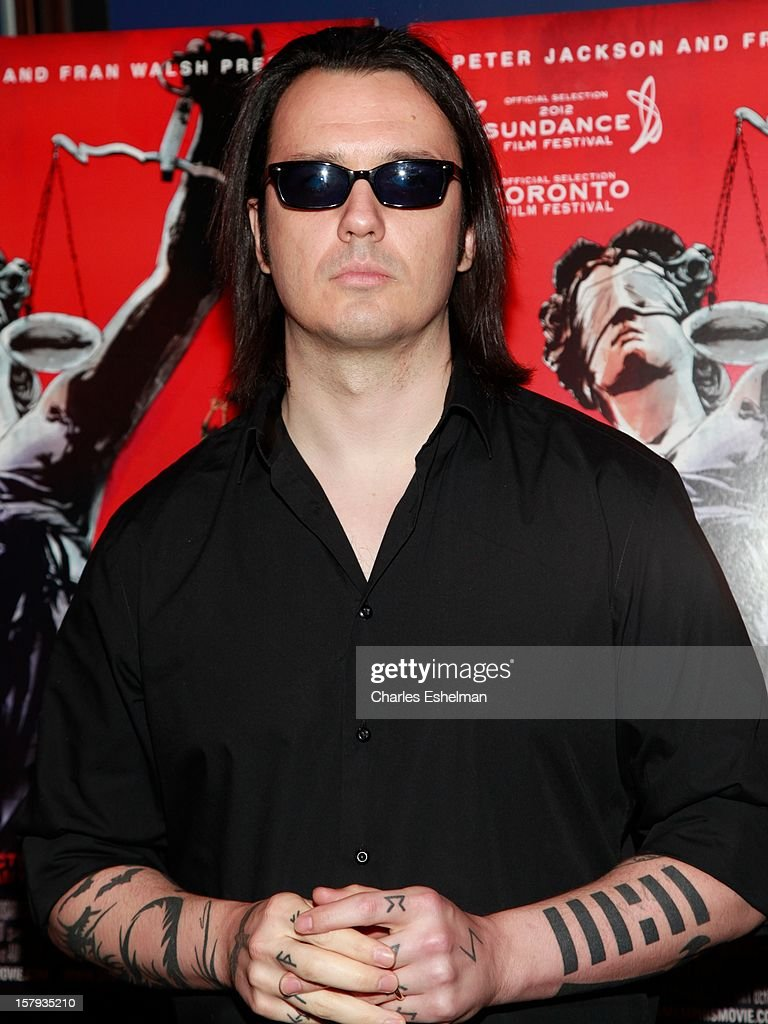 Wrongly convicted Damien Wayne Echols attends the 'West Of Memphis' premiere at Florence Gould Hall on December 7, 2012 in New York City.