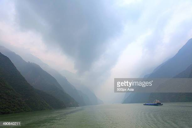 Wu Gorge of The Three Gorges,Hubei