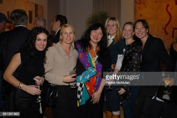 Wu Han Kate Mahon Marie Samuels and attend The Chamber Music Society of Lincoln Center Young Patrons Event with Music Art and More at The Caio...