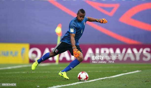 Wuilker Farinez of Venezuela during the FIFA U20 World Cup Korea Republic 2017 Round of 16 match between Venezuela and Japan at Daejeon World Cup...
