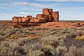 Nearly a thousand years ago natives inhabited the plains between the Painted Desert and the San Francisco Peaks of Arizona. In an area so dry it would seem impossible to live, they built pueblos, harv