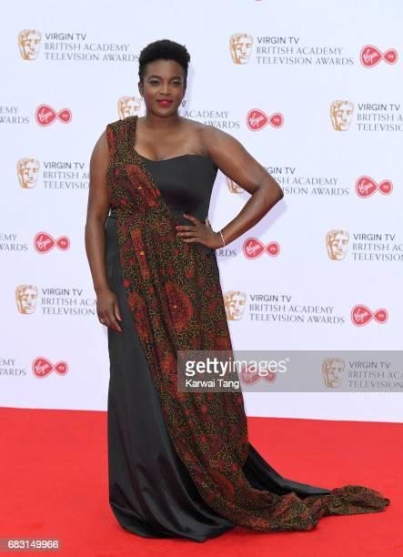 Wunmi Mosaku attends the Virgin TV BAFTA Television Awards at The Royal Festival Hall on May 14 2017 in London England