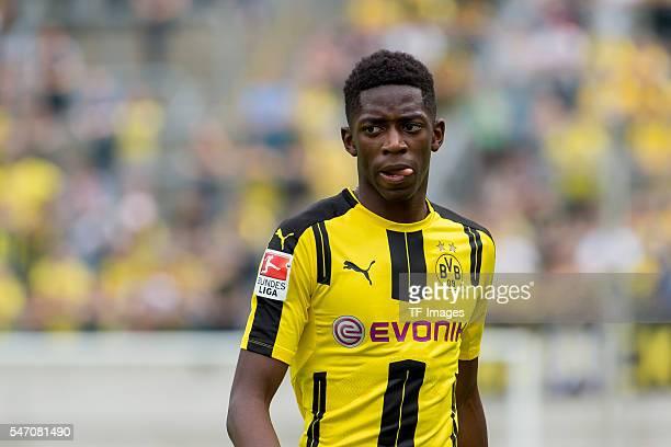 Wuppertal Germany Testspiel Wuppertaler SV BV Borussia Dortmund BVB Ousmane Dembele