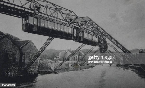 Wuppertal Suspension railway ElberfeldVohwinkel At Westend About 1905 Photograph