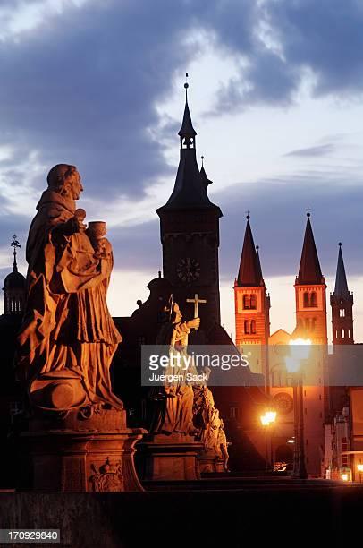 Würzburg im Morgengrauen
