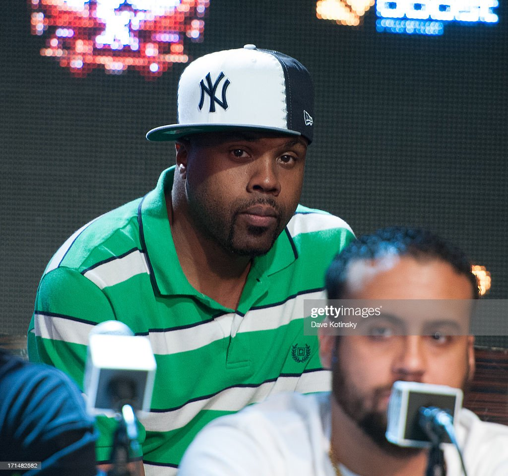 Wu-Tang Clan attends the Rock The Bells 2013 press conference and launch party at Highline Ballroom on June 24, 2013 in New York City.