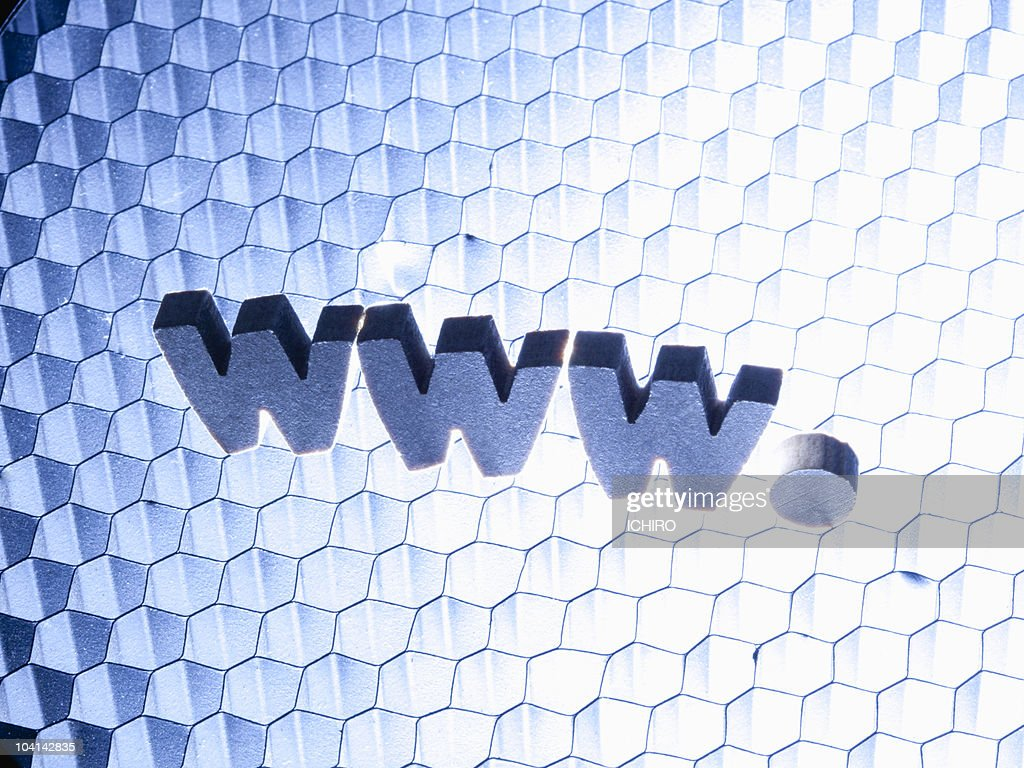 'www' sign. : Stock Photo