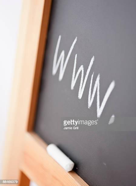 www Written on Blackboard