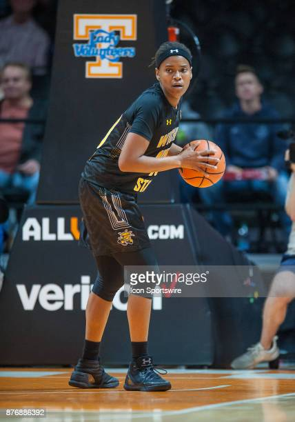 wXXXX during a game between the Wichita State Shockers and Tennessee Lady Volunteers on November 20 at ThompsonBoling Arena in Knoxville TN Tennessee...