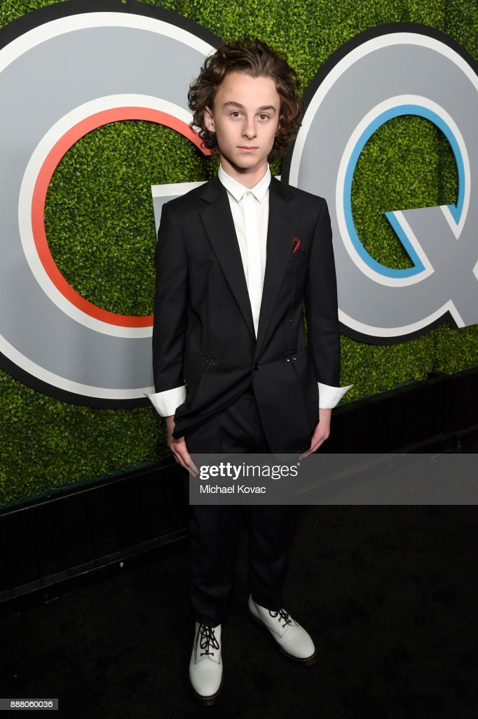 Wyatt Oleff attends the 2017 GQ Men of the Year party at Chateau Marmont on December 7, 2017 in Los Angeles, California.