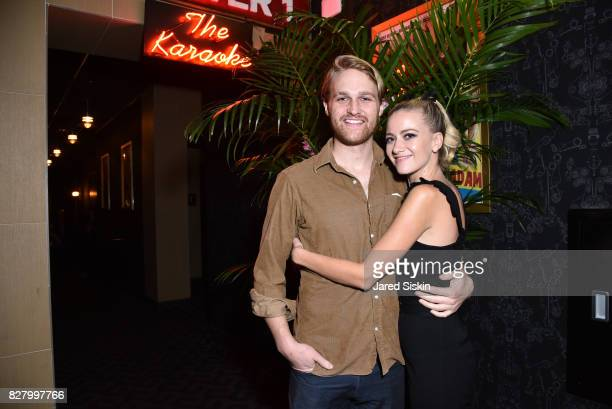 Wyatt Russell and Meredith Hagner attend Neon hosts the after party for the New York Premiere of 'Ingrid Goes West' at Alamo Drafthouse Cinema on...