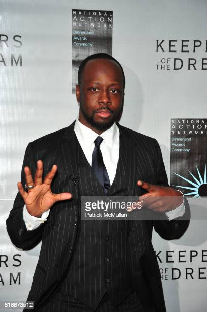 Wyclef Jean attends THE 12th ANNUAL KEEPERS OF THE DREAM AWARDS at Sheraton NY Hotel and Towers NYC on April 15 2010