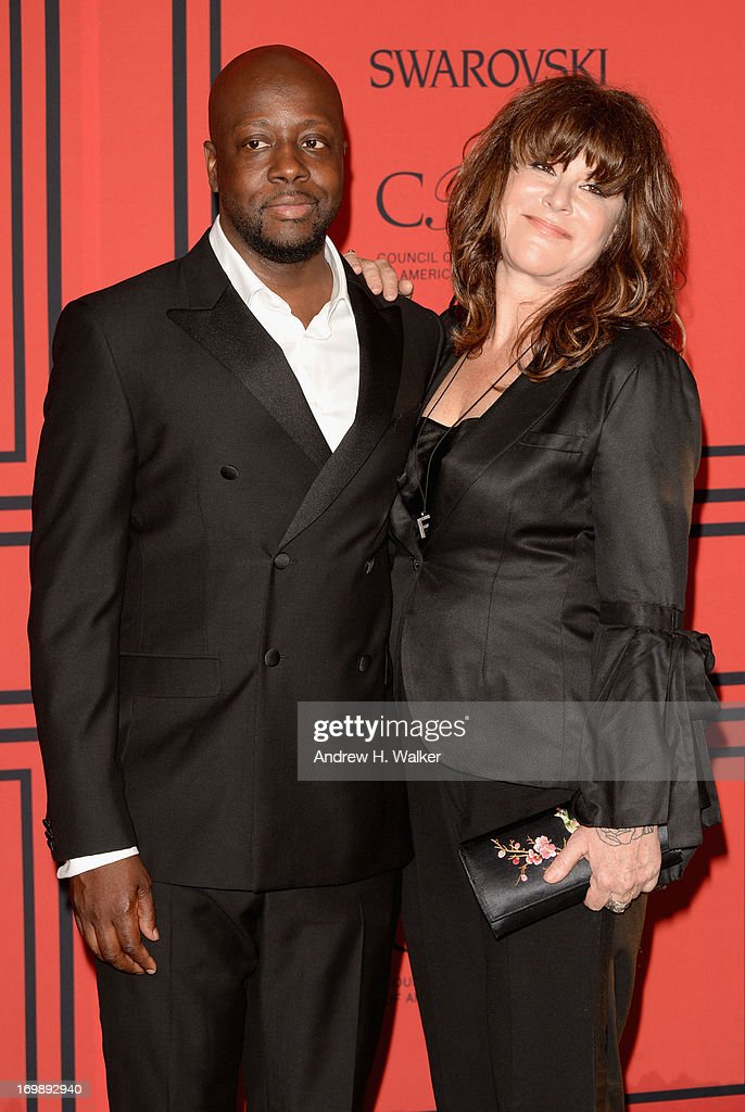 <a gi-track='captionPersonalityLinkClicked' href=/galleries/search?phrase=Wyclef+Jean&family=editorial&specificpeople=171115 ng-click='$event.stopPropagation()'>Wyclef Jean</a> attends the 2013 CFDA Fashion Awards on June 3, 2013 in New York, United States.